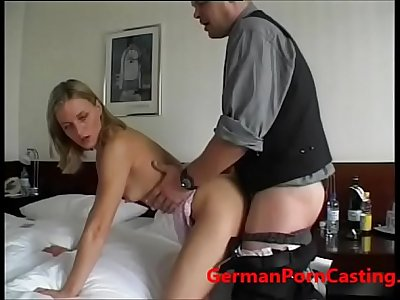 Roleyplay With A German MILF During Casting - GermanPornCasting.com