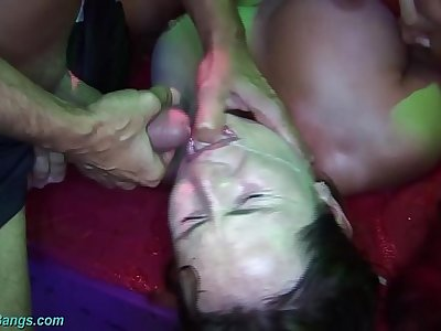 extreme german groupsex gangbang party